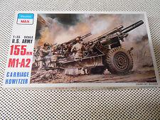 1/35 Peerless Max US Army 155mm M1 A2 Howitzer w/ Metal Gun Barrel # 3502 Rare
