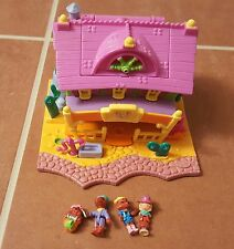 Polly Pocket Light up Horse House Western Saloon COMPLETE 1994 Bluebird