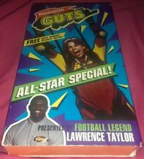 Nickelodeon Guts: All-Star Special! (1989 Orange VHS Tape) FREE SHIPPING