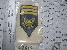 vintage Army SPEC7 SP7 Specialist 7 Collar Rank Insignia DECAL STICKER