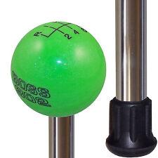 Gotta Have It Green Boss 302 Knob Handle Polished Aluminum Custom Cane Stick
