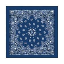 Écharpes bandana bleu pour homme