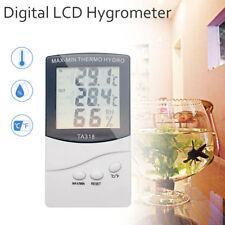 Hygromètre Thermomètre Digital LCD intérieur/extérieur Température humidité Test