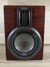 Single Replacement Philips FWB-MCM760 Speaker 6 OHM 3 Way Ribbon Tweeter Technol