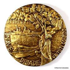 Nave Driade - Marina Militare Italian Navy Metal Tampion Badge Crest