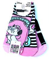 3 Paar Disney Aristocats Marie Damen Sneaker Socken 37-38-39-40-41-42 Primark