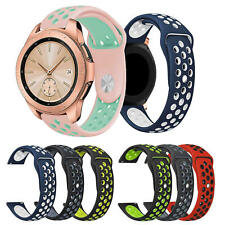 Watch Band for Samsung Galaxy Watch Active1/2 40mm 44mm Silicone Sport Strap