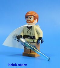 LEGO STAR WARS FIGUR / OBI-WAN KENOBI CON BIANCHI Cape und SPADA LASER