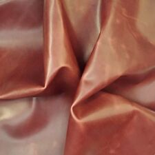 LEATHER PIECES COWHIDE 1 @ 340MM X 220MM 1.8-2.0 MM THICK CHESTNUT SUPPLE FEEL