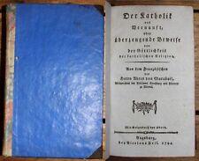 Deutsche antiquarische Bücher von 1700-1799