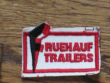fruehauf  trailers   patch, new old stock, 60's,set of 2