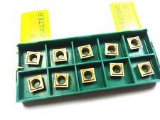 New listing Walter Valenite P8Sc-100236 2082 Carbide Inserts (Qty 10) (Q 908)