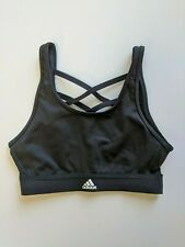 Adidas Sports Bra, Black, Women's XS