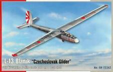 L-13 BLANIK SAILPLANE/GLIDER (AUSTRALIAN CZECH & GERMAN MKGS) 1/72 SPECIAL HOBBY