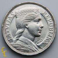 Latvia 2020 silver coin 5 euro modern art  20th century paiting,arhitekture,rose