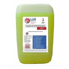 Liquide de refroidissement jaune universel -30°C 25 litres