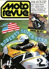 MOTO REVUE 2598 - Kawa GPZ 1100 ZX, Yamaha 350 RDLC, Yamaha 900 XJ