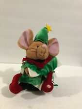 Gemmy Santa Mouse Elf Animated Musical Lights Up Does Not Work