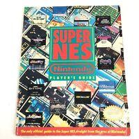 Super NES Strategy Guide Super Nintendo Player's Guide Official NES SNES Book