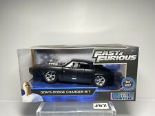 Fast And Furious Dom's Dodge Charger R/T Die Cast Model Car 1/24