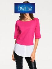 2-in-1-Pullover Rick Cardona by heine. pink/weiß. Gr. 36. NEU!!! KP 49,90 €