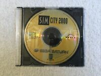 SimCity 2000 (Sega Saturn) - DISC ONLY With Jewel Case Good Condition