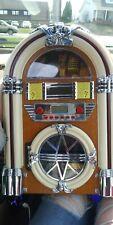 Collector's Edition Vintage Crosley Jukebox AM/FM Radio & CD Player CR11CD