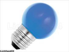 E27 - 1,5 Watt LED Color Ball bunte Tropfenlampe BLAU verglb. 15W Glühlampe