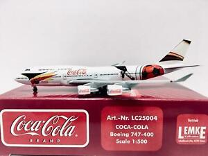 Herpa Wings Coca Cola Boeing 747-400 1:500 LC25004 Limited Edition