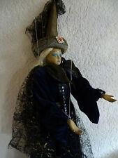 Marionetten Künstlerpuppe Zauberin ca.  60cm