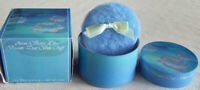 """Vntg. 1985 Avon """"WATER LILY BEAUTY DUST"""" Lily Talc + Container + Puff 4 oz -NEW!"""