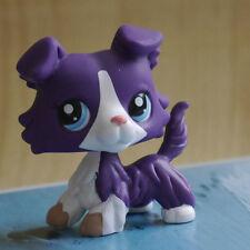 "IN HAND LPS LITTLEST PET SHOP MINI 3"" FIGURE TOY Purple Collie dog #1676"