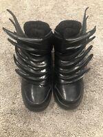 Adidas Jeremy Scott Black Wings 3.0 Dark Knight Batman Size 9.5, Rare!