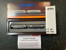 Marklin spur z scale/gauge OBB Railbus Set. Rare.