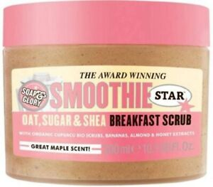 Soap & Glory Smoothie Star THE BREAKFAST SCRUB Body Smoother 300ml - Brand New