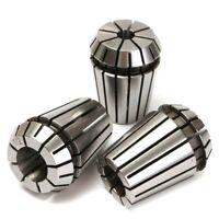 "3pcs ER25 Spring Collets Collet Chuck Milling Lathe Tool Set CNC 1/8"" 1/4"" 1/2"""