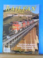 Railfan & Railroad Magazine 1998 December Coal trains in Alberta
