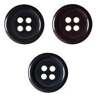 Pack of 7 Hemline Metal Nautical Anchor Design Shank Back Buttons 15mm