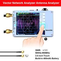 Nanovna 50KHz-900MHz Vector Network Analyzer UHF HF VNA VHF UV USB 2.8'' White