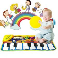Baby Musical Play Mat Music Kid Piano Animal Educational Soft Kick Toy Gift Foam