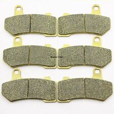 Front Rear Brake Pads For Harley FLHTCU Ultra Classic Electra Glide 2008-2014 6