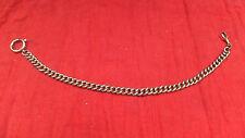 antike Uhrkette Kette für Taschenuhr Silber farben .a13.