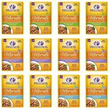 Wellness Healthy Indulgence Natural Grain Free Wet Cat Food Variety Pack, 3-O.