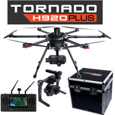 Yuneec Tornado H920+ Plus Drone w/ CG04 Camera, ProAction, ST16, Case, 3 Batts