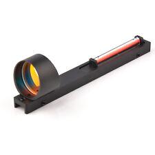 Rojo Fibra óptica vista Holográfico Dot alcance para Escopeta Caza de carril de costilla