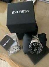 Express Men's Stainless Steel Watch