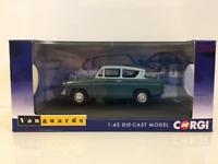 Corgi VA00132 Ford Anglia 105E Deluxe Pompadour Blue and Shark Blue 1:43