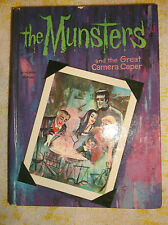 The Munsters and the Great Camera Caper Book Vintage 1965 TV Series Whitman HB