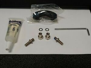 1 Okuma Part# 11140025 Black Clamp Kit Complete W/oil Wrench Fits Andros 5ii