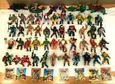 Huge Lot 52 Action Figures w/ Weapons Masters of the Universe MOTU Inc Modulok +